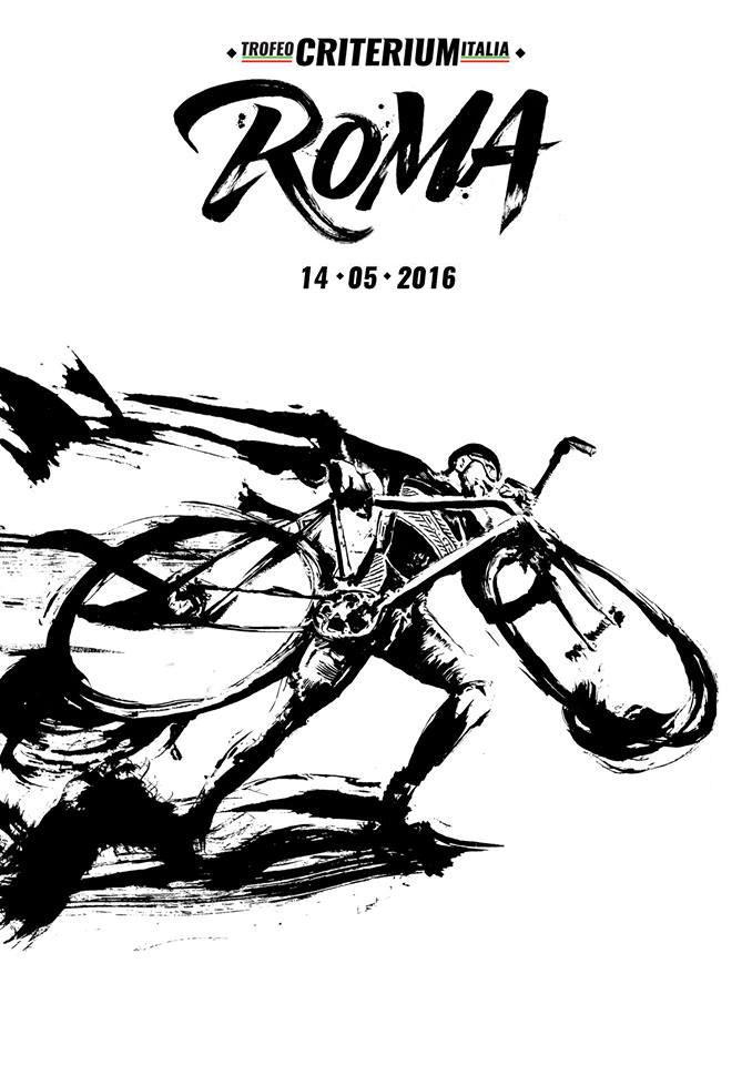 Urbe Criterium Race - Locandina